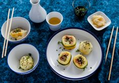 Aus Thüringer Klößen wird Kloß-Sushi
