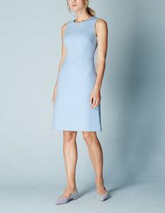 Square Jacquard Dress