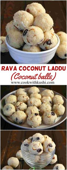 Semolina Coconut Treats - popular in India during festivals and special occasions.