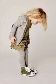 Toddler Girl Fashion: My 3 Year Old Dresses Better Than Me - A collection of the cutest and most stylish toddler girl fashion statements I've seen lately Little Girl Shoes, Baby Girl Shoes, Little Girl Fashion, Cute Little Girls, Boy Fashion, Trendy Fashion, Girls Shoes, Fall Fashion Kids, Fashion Styles