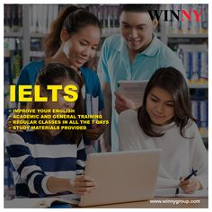 Know how to improve your IELTS score with #Winny Education Services and experience the right blend of teaching methodologies along with required study materials.