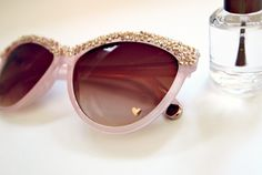 Glitter N Glue DIY Embellished Sunglasses