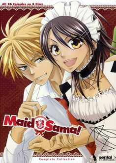 This set contains all 27 episodes from the anime series MAID SAMA!