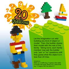 20 questions lego game