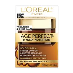 Age Perfect® Hydra-Nutrition – Golden Balm Face, Neck & Chest - Facial Moisturizer
