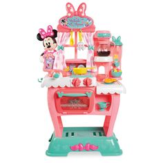 Product Image of Minnie Mouse Brunch Café Playset # 1 Little Girl Toys, Baby Girl Toys, Toys For Girls, Little Girls, Minnie Mouse Kitchen, Minnie Mouse Toys, Kids Toy Shop, Toys Shop, Toddler Toys