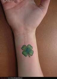 Four Leaf Clover Tattoo Meaning 3 Nature Tattoo Pinterest