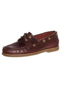 Lumberjack NAVIGATOR Boat shoes brown