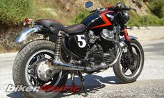 honda cx400 café/fighter by elias