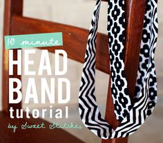 DIY - 10 minute headband