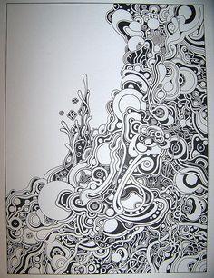 Looks fun tangle art, tangle doodle, doodles zentangles, zen doodle, doodle art Zentangle Drawings, Zentangle Patterns, Doodle Drawings, Doodle Art, Zen Doodle, Doodle Ideas, Doodles Zentangles, Tangle Art, Tangle Doodle