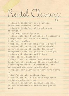 Southern Mom Loves: Tips to Get Your New Home Clean Before You ...
