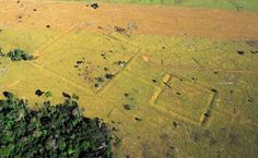 .The discovery of the ruins of an ancient civilization in the upper Amazon basin  overturns previously held beliefs that the area had always been uninhabited.