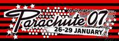 Parachute Music Festival Logo 2007. parachutemusic.com Music Festival Logos, Folk Music, Cavaliers Logo, Team Logo, Company Logo, History, Historia, Folk