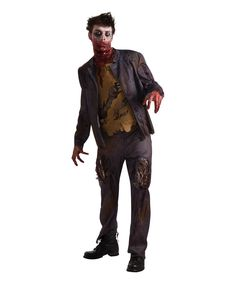 Look at this Zombie Shawn Costume Set - Men's Regular on #zulily today!