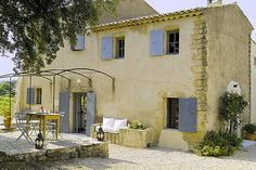 Living the simple life in a beautiful french villa