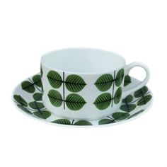 Berså coffee set - coffee cup + saucer - Gustavsberg Porslinsfabrik