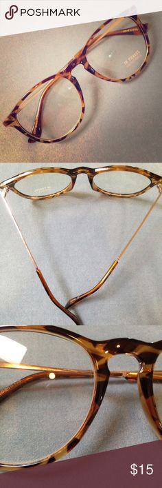 Ainsley Transparent Round Clear Frame Glasses - Clear Fake Glasses ...