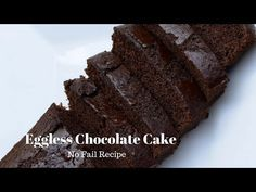 Eggless Chocolate Cake recipe with step by step pictures. How to make delicious eggless chocolate cake which is loved by all, specially kids.