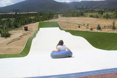 Things to do around Denver for kids and families. Summer Tubing Hill at Snow Mountain Ranch/YMCA of the Rockies