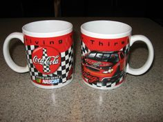 Coca Cola Coffee Mug Set Coffee Mug Sets, I Love Coffee, Coffee Art, Mugs Set, Hot Coffee, Coca Cola, Nascar Collectibles, Cool Mugs, Necklaces