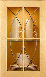 Glass Cabinet Door Styles art glass cabinet door inserts | kitchen glass cabinets