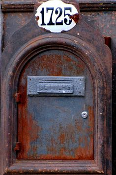 patina going postal #patina #mail #mailbox