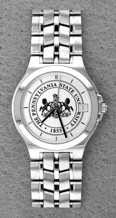 LARGE PENN STATE WATCH FEATURING UNIVERSITY SEAL AS DIAL  325  PENNSTATE   PSU  WATCH  SEAL 452bcbe7e8ca