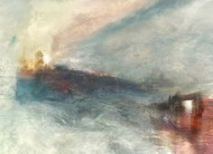 J.M.W.TURNER,  The Burning of the Houses of Parliament No.7, 1834  www.artexperiencenyc.com