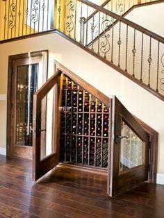Wine Cellar Under the Stairs . Wine Cellar Under the Stairs . Wine Room Under the Stairs Goals Winestorage
