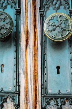 gothic door knobs...
