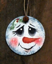 Image result for Painting Snowman Faces On Crafts