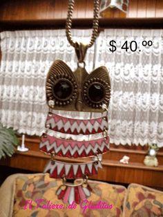 búho rosa $40.00. búscalo en :https://www.facebook.com/TaliereDeGladitas?ref=hl