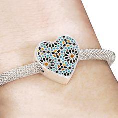 Moroccan Colorful Zelij Pattern - Bracelet Muslim, Islamic, Women Jewelry, Bracelets, Morocco, Jewerly, Islam, Bracelet, Arm Bracelets