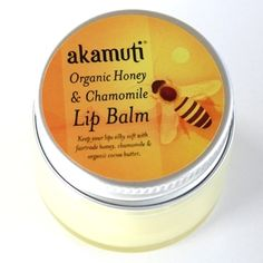 Organic Honey & Chamomile Lip Balm 15ml