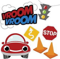 Vroom Vroom SVG car svg file boy svg files free svg files svg files for scrapbooking cute clipart