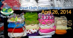 Greenberries Co.: Save The Date: Great Cloth Diaper Change 2014!