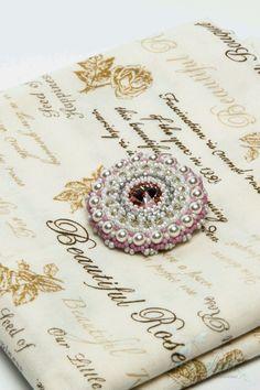 """Купить Брошь """"Розовый кварц"""" - брошь, брошь ручной работы, стильное украшение, стильный аксессуар"""
