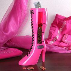 Spar Stiefel in pink Tussi on Tour - Für alle, die nie genug Schuhe im Schrank haben können.