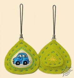 Car Keyfob - Cross Stitch Craft Kits by RIOLIS - 1287AC