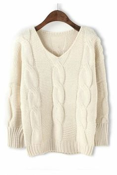 .White Sweater.