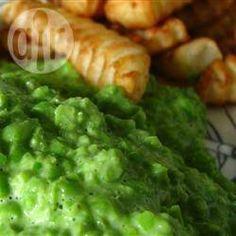 Purê de ervilha @ allrecipes.com.br