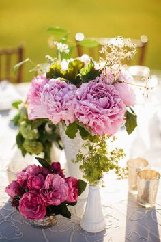 Fresno, California Garden Wedding from Raya Carlisle Photography Table Arrangements, Flower Arrangements, California Garden, Wedding Reception, Reception Ideas, Carlisle, Wedding Coordinator, Fresh Flowers, Garden Wedding