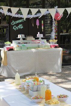 Nice Party cumpleaños de bienvenida al verano. Cumpleaños infantil