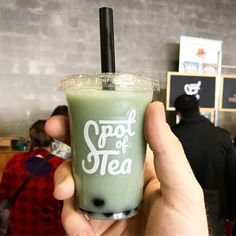 It's so tiny and cuute!! Enjoying Jasmine Bubble Tea #5NOMs from @drinkspotoftea at @theemporiyum. Tag a friend who loves to suck on big straw. . . . #foodporn #gayfoodie #instagood #instafood #food #foodiesofinstagram #visitwashington #event #dceats #dcgays #dcfoodie #eattheworld #foodbeast #spoonfeed #buzzfeedfood #myfab5 #huffposttaste #LoveFood #EEEEEATS #foodpornshare #yesplsdc #bestfooddc #dcfoodporn #dailyfoodfeed #queerty #visitwashingtondc Dc Food, Buzzfeed Food, Bubble Tea, Jasmine, Love Food, Bubbles, Food Porn, Eat, Tableware