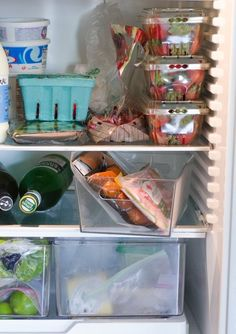 Back to Basics: 3 Step-by-Step Tips for Organizing a Refrigerator | Apartment Therapy