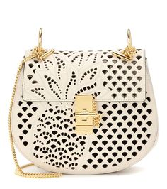 mytheresa.com - Drew Leather Shoulder Bag * Chloé - mytheresa - Luxury Fashion for Women / Designer clothing, shoes, bags