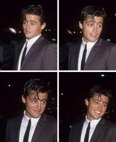 """young matt le blanc is so adorable. That smile! I miss """"Friends"""" so much. <3 He will always be Joey."""