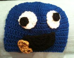 Items similar to Crochet Pumpkin Hat on Etsy Crochet Pumpkin Hat, Monster Hat, Cookie Monster, Esty, Handmade Items, Handmade Gifts, Beanie, Trending Outfits, Unique Jewelry