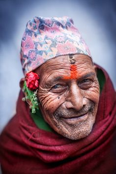 A beautiful face ~ photo titled Nepal man by Manuel Lao on 500px